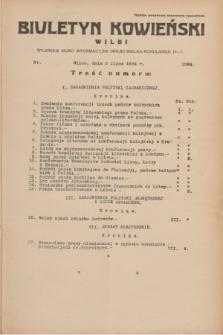 Biuletyn Kowieński Wilbi. 1934, nr 1088 (5 lipca)