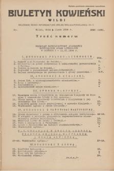 Biuletyn Kowieński Wilbi. 1934, nr 1090-1091 (9 lipca)