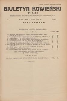 Biuletyn Kowieński Wilbi. 1934, nr 1093 (11 lipca)