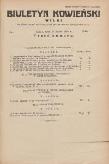 Biuletyn Kowieński Wilbi. 1934, nr 1094 (12 lipca)