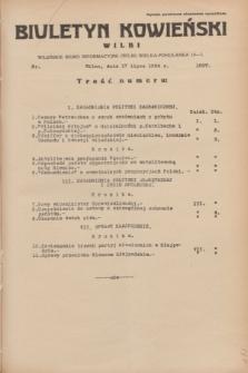 Biuletyn Kowieński Wilbi. 1934, nr 1097 (17 lipca)