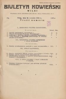 Biuletyn Kowieński Wilbi. 1934, nr 1120 (24 sierpnia)