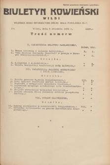 Biuletyn Kowieński Wilbi. 1934, nr 1127 (3 września)