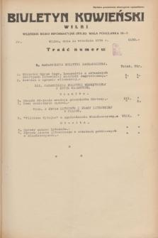 Biuletyn Kowieński Wilbi. 1934, nr 1130 (11 września)
