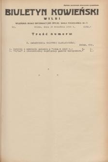 Biuletyn Kowieński Wilbi. 1934, nr 1132 (15 września)