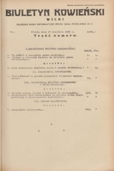 Biuletyn Kowieński Wilbi. 1934, nr 1133 (17 września)