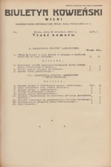 Biuletyn Kowieński Wilbi. 1934, nr 1137 (25 września)