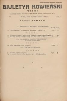 Biuletyn Kowieński Wilbi. 1934, nr 1144 (5 października)
