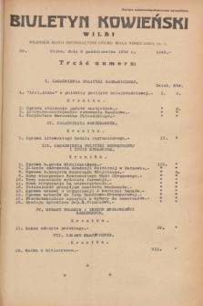Biuletyn Kowieński Wilbi. 1934, nr 1146 (8 października)