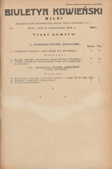 Biuletyn Kowieński Wilbi. 1934, nr 1150 (15 października)