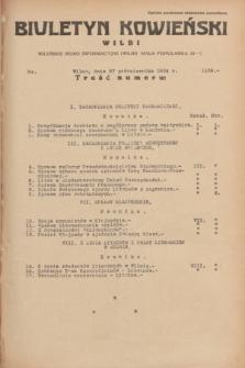 Biuletyn Kowieński Wilbi. 1934, nr 1159 (27 października)