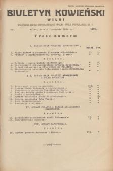 Biuletyn Kowieński Wilbi. 1934, nr 1162 (5 listopada)