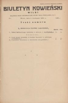 Biuletyn Kowieński Wilbi. 1934, nr 1166 (9 listopada)