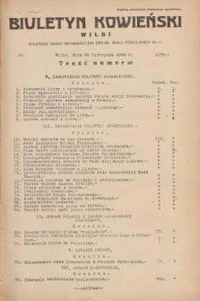 Biuletyn Kowieński Wilbi. 1934, nr 1178 (26 listopada)