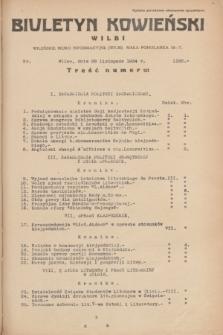 Biuletyn Kowieński Wilbi. 1934, nr 1180 (28 listopada)
