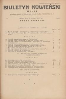 Biuletyn Kowieński Wilbi. 1934, nr 1183 (6 grudnia)