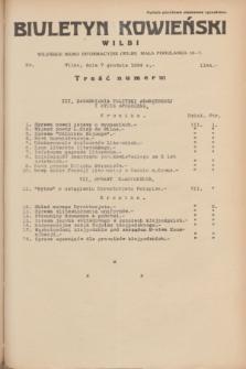 Biuletyn Kowieński Wilbi. 1934, nr 1184 (7 grudnia)
