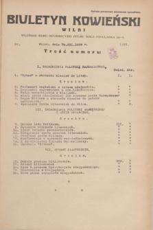 Biuletyn Kowieński Wilbi. 1934, nr 1193 (29 grudnia)
