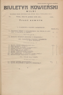 Biuletyn Kowieński Wilbi. 1934, nr 1194 (31 grudnia)