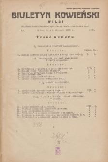 Biuletyn Kowieński Wilbi. 1935, nr 1195 (3 stycznia)