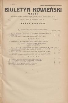 Biuletyn Kowieński Wilbi. 1935, nr 1197 (5 stycznia)