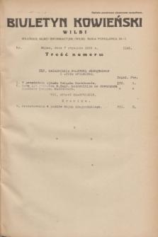 Biuletyn Kowieński Wilbi. 1935, nr 1198 (7 stycznia)