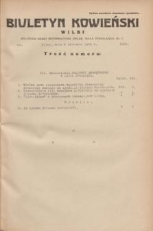 Biuletyn Kowieński Wilbi. 1935, nr 1200 (9 stycznia)