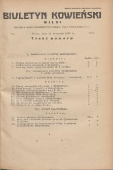 Biuletyn Kowieński Wilbi. 1935, nr 1201 (10 stycznia)