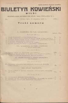 Biuletyn Kowieński Wilbi. 1935, nr 1205 (17 stycznia)