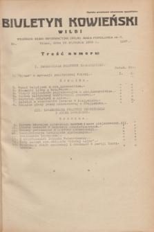 Biuletyn Kowieński Wilbi. 1935, nr 1207 (19 stycznia)