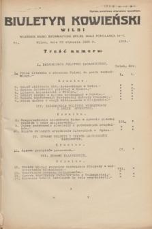Biuletyn Kowieński Wilbi. 1935, nr 1209 (23 stycznia)
