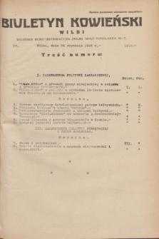 Biuletyn Kowieński Wilbi. 1935, nr 1210 (24 stycznia)