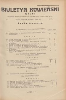 Biuletyn Kowieński Wilbi. 1935, nr 1212 (26 stycznia)