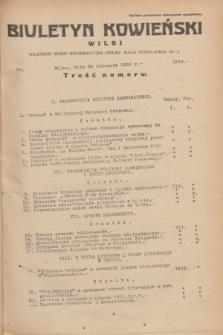 Biuletyn Kowieński Wilbi. 1935, nr 1214 (30 stycznia)