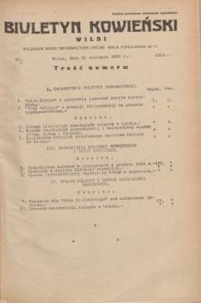 Biuletyn Kowieński Wilbi. 1935, nr 1215 (31 stycznia)