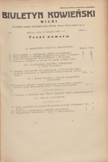 Biuletyn Kowieński Wilbi. 1935, nr 1216 (4 lutego)