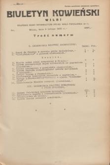 Biuletyn Kowieński Wilbi. 1935, nr 1217 (5 lutego)