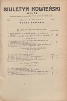 Biuletyn Kowieński Wilbi. 1935, nr 1218 (6 lutego)