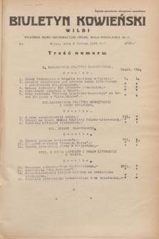 Biuletyn Kowieński Wilbi. 1935, nr 1219 (8 lutego)