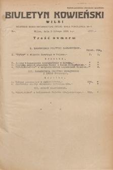 Biuletyn Kowieński Wilbi. 1935, nr 1220 (9 lutego)