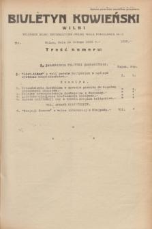 Biuletyn Kowieński Wilbi. 1935, nr 1223 (14 lutego)