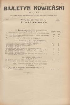 Biuletyn Kowieński Wilbi. 1935, nr 1225 (16 lutego)
