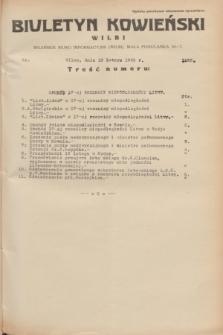 Biuletyn Kowieński Wilbi. 1935, nr 1226 (18 lutego)