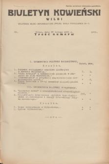 Biuletyn Kowieński Wilbi. 1935, nr 1228 (20 lutego)