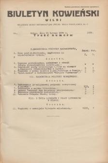 Biuletyn Kowieński Wilbi. 1935, nr 1229 (21 lutego)