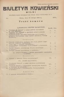 Biuletyn Kowieński Wilbi. 1935, nr 1231 (23 lutego)