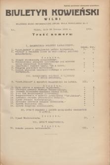 Biuletyn Kowieński Wilbi. 1935, nr 1235 (28 lutego)