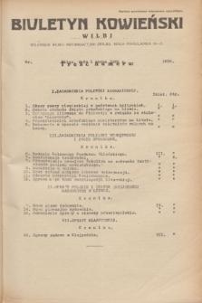 Biuletyn Kowieński Wilbi. 1935, nr 1236 (1 marca)