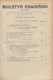 Biuletyn Kowieński Wilbi. 1935, nr 1237 (2 marca)