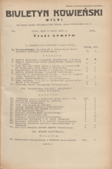 Biuletyn Kowieński Wilbi. 1935, nr 1238 (4 marca)